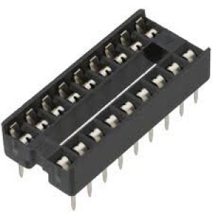 18 pin DIL socket