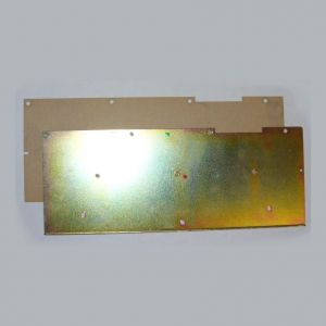 Backing plate (metal type) for Spectrum Plus keyboard