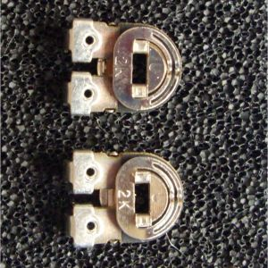 Pair of trimmer pots for Issue 2 Spectrum PCBs