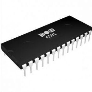 6581 SID Chip for Commodore 64 (Light filter)