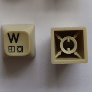 Type 3 Spare Key - C64C (White keys) - Grade 3