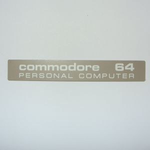 Badge for Commodore 64C - Commodore 64 Personal Computer