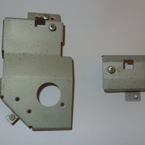 Pair of keyboard support brackets for C64C - Long Board