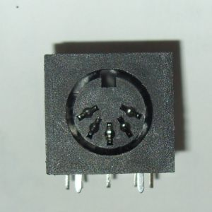 Video socket for Commodore 64  ** Early Breadbin 5 pin DIN **