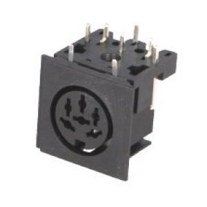 Serial / Disk Drive socket for Commodore 64 etc - 6 pin DIN *NEW*