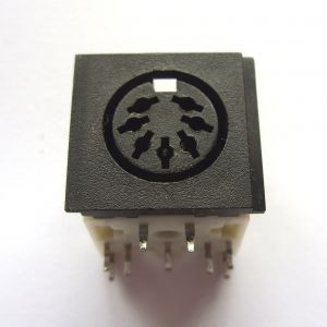 Power socket for Commodore 64 - Common later type 7 Pin DIN *NEW*