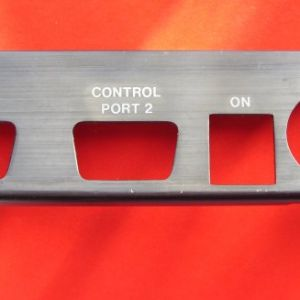 Port plate for Commodore 64 - Grade A