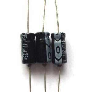 Capacitors for ZX Interface One Iss4 PCB